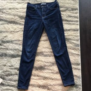 Levi's size 28 - 720 high rise super skinny jean